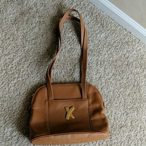 Paloma Picasso leather bag tan
